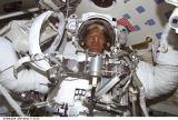 Parazynski krátce před EVA-1 (22.04.2001)