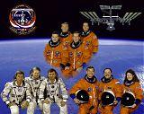 Posádka STS-102, Expedice 1 a Expedice 2