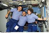 Členové Expedice 2 na ISS (10.03.2001)