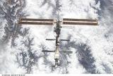ISS při odletu STS-102 (19.03.2001)