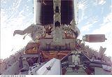 Foale a Nicollier při EVA-2 (23.12.1999)