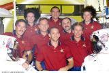 Společná fotografie v modulu Quest (20.07.2001)