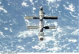ISS po odletu raketoplánu Atlantis STS-106 (18.09.2000)