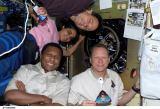 Část posádky STS-107 na oběžné dráze (20.01.2003)