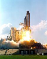 Start raketoplánu Atlantis STS-112/ISS-9A (07.10.2002)
