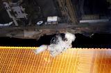Noguchi při EVA-1 (30.07.2005)