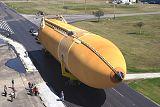 Nová nádrž ET při dopravě na KSC