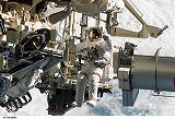 Burbank při výstupu EVA-2 (13.09.2006)