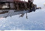 Stefanyshyn-Piper[ová] při výstupu EVA-3 (15.09.2006)