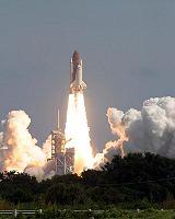 Start raketoplánu Atlantis STS-115 z LC-39B na KSC (09.09.2006)