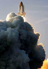 Start raketoplánu Endeavour STS-118 (08.08.2007)