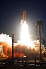 Start raketoplánu Discovery STS-119 z KSC (15.03.2009)