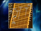 Schéma umístění táhel (cufflinks) pro opravu panelu P6-4B (03.11.2007)