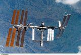 Stanice ISS při odletu raketoplánu Discovery STS-120 (05.11.2007)