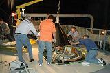 Montáž krytu špičky nádrže ET pro let STS-121 (29.03.2006)
