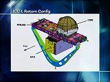 Plošina ICC v konfiguraci pro přistání (vadný CMG, demontovaná nádrž NTA)