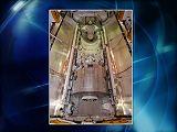 Nákladový prostor Endeavour STS-123 před startem (březen 2008)