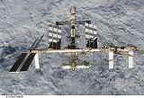 ISS při odletu Discovery STS-124 (11.06.2008)