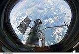 Teleskop HST po zachycení raketoplánem Atlantis STS-125 (13.05.2009)
