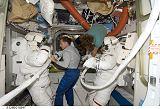 Bowen a Kimbrough po EVA-4 (24.11.2008)