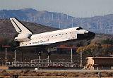 Přistání raketoplánu Endeavour STS-126 na Edwards AFB v Kalifornii (30.11.2008)