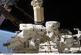 Cassidy a Marshburn při výstupu EVA-5 (27.07.2009)