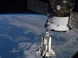 Přílet raketoplánu Endeavour STS-130 ke stanici ISS (10.02.2010)