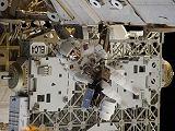 Drew při výstupu EVA-2 (02.03.2011)