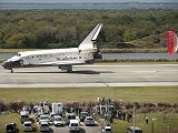 Přistání raketoplánu Discovery STS-133 na KSC (09.03.2011)