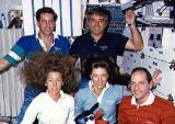 Společná fotografie posádky na oběžné dráze (14.01.1990)