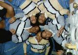 Společná fotografie posádky na oběžné dráze (27.11.1989)