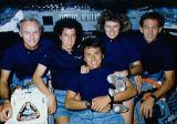 Společná fotografie posádky na oběžné dráze (23.10.1989)