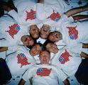 Společná fotografie posádky na oběžné dráze (11.12.1990)
