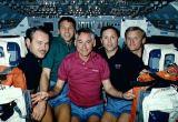 Společná fotografie posádky na oběžné dráze (03.03.1990)
