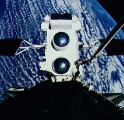 GRO na RMS krátce před vypuštěním (07.04.1991)