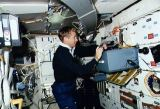 Pilot Culbertson na obytné palubě Atlantis (20.11.1990)