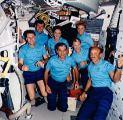 Společná fotografie posádky na oběžné dráze (14.06.1991)