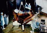 Předstartovní příprava sondy Ulysses (14.08.1990)
