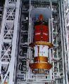 Předstartovní příprava družice TDRS-E na KSC (16.07.1991)