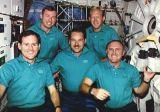 Společná fotografie posádky na oběžné dráze (17.09.1991)