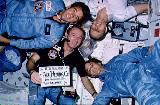 Kompletní posádka STS-5