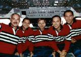 Společná fotografie posádky na oběžné dráze (20.09.1993)