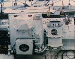 Experiment Hitchhiker G-1 při předstartovní přípravě (23.12.1985)