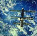 Mir při přibližování Columbie STS-63 (06.02.1995)