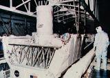 Předstartovní příprava LITE-1 na KSC (29.08.1994)