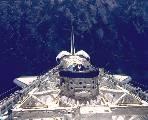 Nákladový prostor Atlantisu se Spacelabem