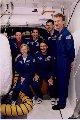 Posádka STS-81 při TCDT