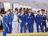 Posádka STS-83 po přistání