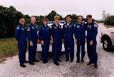 Posádka STS-84 před TCDT