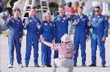 Posádka STS-85 po přistání